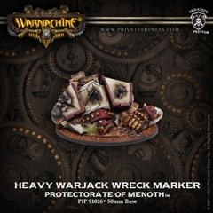 Protectorate of Menoth Heavy Warjack Wreck Marker