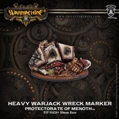 Heavy Warjack Wreck Marker