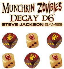 Munchkin Zombies Decay d6