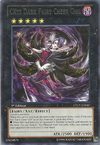 CXyz Dark Fairy Cheer Girl - LTGY-EN047 - Rare - 1st