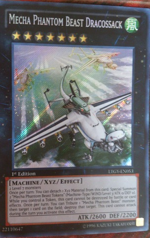 Mecha Phantom Beast Dracossack - LTGY-EN053 - Secret Rare - 1st