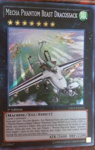 Mecha Phantom Beast Dracossack - LTGY-EN053 - Secret Rare - 1st