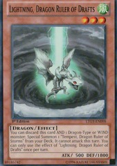 Lightning, Dragon Ruler of Drafts - LTGY-EN098 - Common - 1st