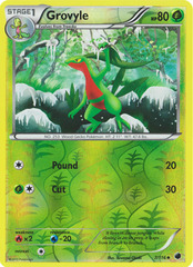 Grovyle - 7/116 - Uncommon - Reverse Holo on Channel Fireball