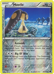 Mawile - 80/116 - Uncommon - Reverse Holo