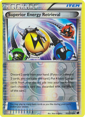 Superior Energy Retrieval - 103/116 - Uncommon - Reverse Holo