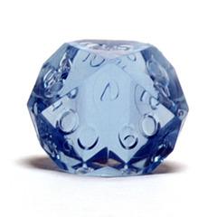 Gamescience Blue Moonstone Precision Tens D10 no ink