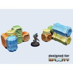 Cargo Crates set 1 (2) (T00051)