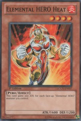 Elemental HERO Heat - LCGX-EN037 - Common - Unlimited Edition
