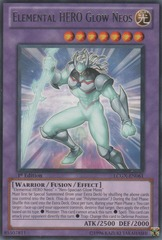 Elemental HERO Glow Neos - LCGX-EN061 - Rare - Unlimited Edition