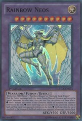 Rainbow Neos - LCGX-EN074 - Super Rare - Unlimited Edition