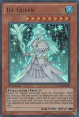 Ice Queen - LCGX-EN207 - Ultra Rare - Unlimited Edition