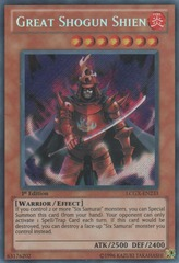 Great Shogun Shien - LCGX-EN233 - Secret Rare - Unlimited Edition