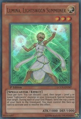 Lumina, Lightsworn Summoner - LCGX-EN247 - Ultra Rare - Unlimited Edition