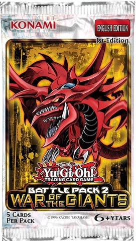 Yu-Gi-Oh Battle Pack 2: War of the Giants 1st Edition Booster Pack