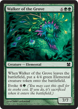 Walker of the Grove - Foil