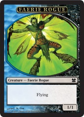 Faerie Rogue Token (Blue/Black)
