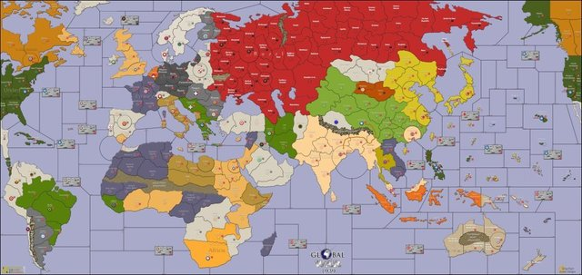 Global War 1939 - Board Games » Avalon Hill Games BG ...