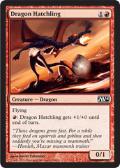 Dragon Hatchling on Channel Fireball
