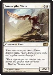 Bonescythe Sliver - Foil on Channel Fireball