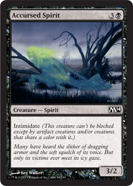 Accursed Spirit - Foil
