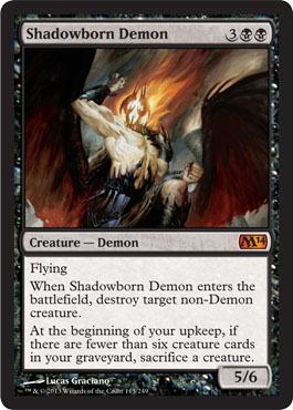 Shadowborn Demon - Foil