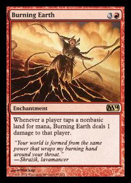 Burning Earth - Foil