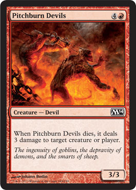 Pitchburn Devils - Foil