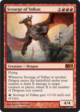 Scourge of Valkas - Foil