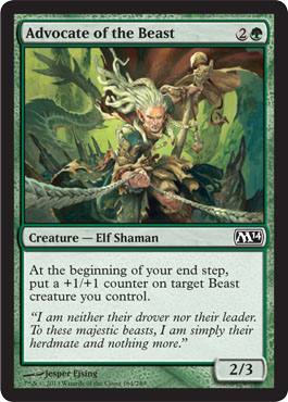 Advocate of the Beast - Foil