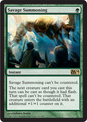 Savage Summoning - Foil