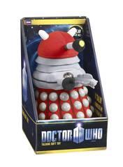 Doctor Who Red Dalek Talking Plush