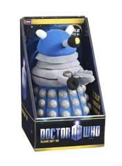 Doctor Who Blue Dalek Talking Plush