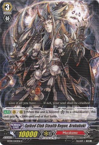 Spiked Club Stealth Rogue, Arahabaki - BT09/043EN - C