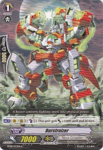Burstraizer - BT09/072EN - C