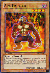 Ape Fighter - BP02-EN093 - Mosaic Rare - 1st on Channel Fireball