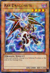 Axe Dragonute - BP02-EN096 - Mosaic Rare - 1st on Channel Fireball