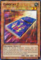 Cardcar D - BP02-EN112 - Mosaic Rare - 1st