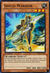 Shield Warrior - BP02-EN066 - Common - 1st