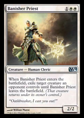 Banisher Priest - Foil on Channel Fireball