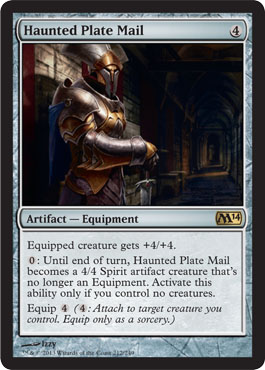 Haunted Plate Mail - Foil