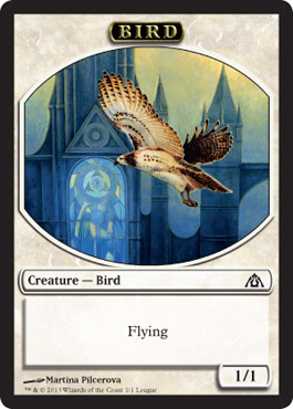 Bird Token - Dragons Maze League