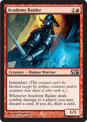 Academy Raider on Channel Fireball