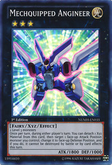 Mechquipped Angineer - NUMH-EN035 - Super Rare - 1st Edition