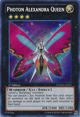 Photon Alexandra Queen - NUMH-EN047 - Secret Rare - 1st Edition