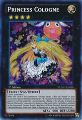 Princess Cologne - NUMH-EN050 - Secret Rare - 1st Edition
