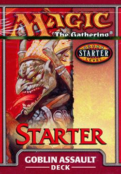 MTG Starter 1999 Goblin Assault Theme Deck