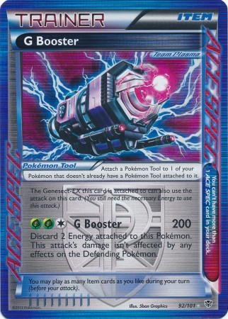G Booster - 92/101 - Holo Rare