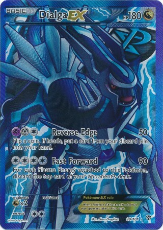 Dialga-EX - 99/101 - Full Art