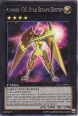 Number 102: Star Seraph Sentry - JOTL-EN053 - Rare - 1st Edition